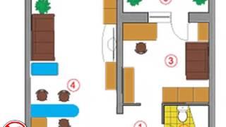 видео Дизайн интерьера двух комнат в хрущевке без перепланировки, советы и фото