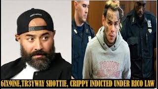 EBRO Reacts To TEKASHI69 & TR3YWAY Indicted Under The RICO Act