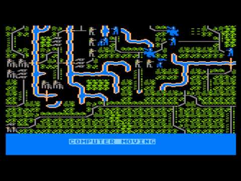 Shiloh: Grant's Trial in the West for the Atari 8-bit family