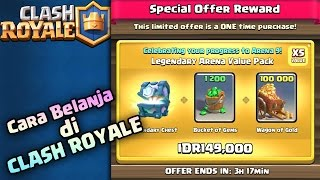 Cara Belanja di Clash Royale Via Voucher Google Play