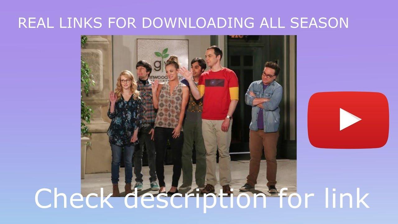 big bang theory season 1 download yify