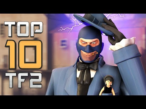 Top 10 TF2 plays - Smartest Spy In TF2's History! (2019 E03)