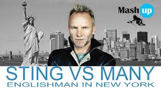 Sting Vs Many - Englishman In New York - Paolo Monti Mashup 2021