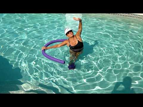 Sylvia's Water Aerobic Stretches, Cool Down