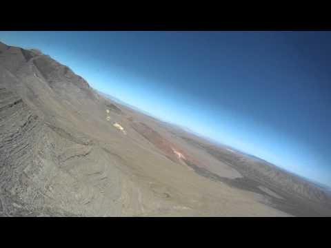 Las Vegas Hang Gliding- Adam & John Thermalling Goodsprings POV 6-21-2011