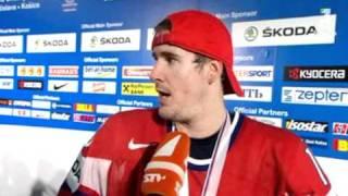 Roman Cervenka after Czechia gets bronze