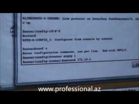Professional IT Training Center - Cisco EIGRP by Elvin Akhmadov