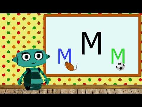 🎓 Учим звуки речи вместе с роботом Дашей. Звук М. Урок 8 (0+)