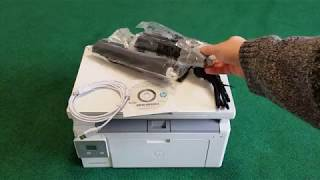 Розпакування HP LaserJet Ultra MFP M134a з Rozetka.com.ua