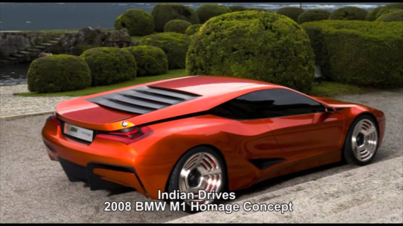 2008 BMW M1 Homage Concept : Details - YouTube