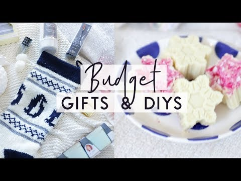 Christmas Gift Ideas on a Budget ❄️ DIYs, Shopping tips and Inexpensive Gifts