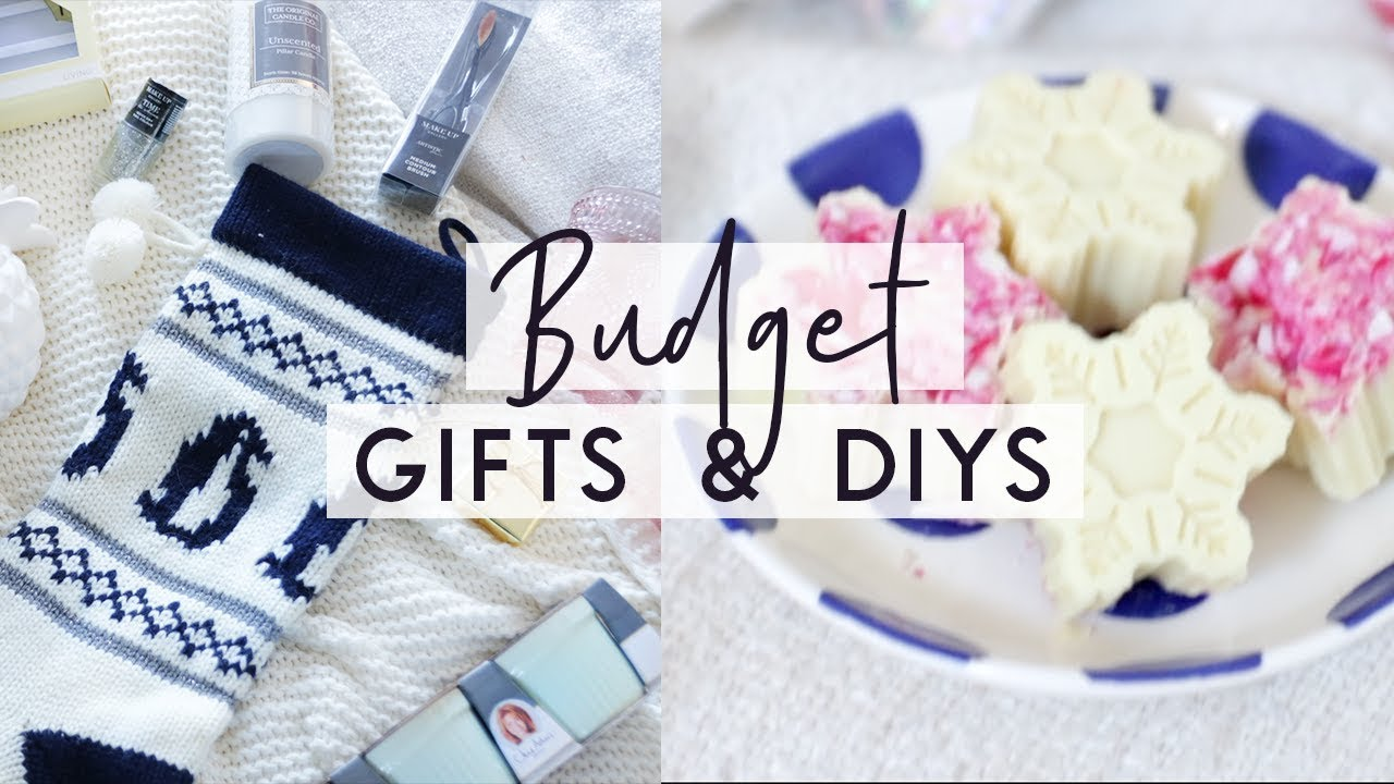 Christmas Gift Ideas on a Budget ❄ DIYs, Shopping tips and ...
