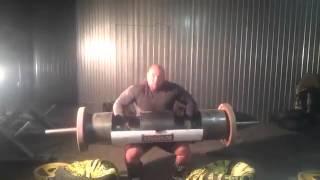 Сергей Вачинский бревно 130,150 и 160 кг,подготовка к KRINICA CUP -2014 .
