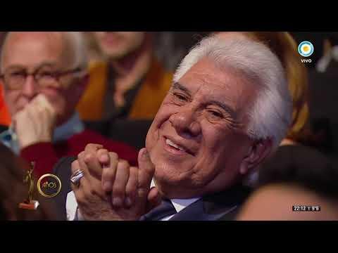 Raúl Lavié se llevó el Platino en los Premios Hugo