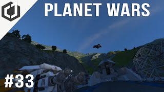 Space Engineers | PLANET WARS - EP 33 | Mining Operations