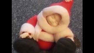 Sugar baby in Santa suit by Frances McNaughton, FranklySweet
