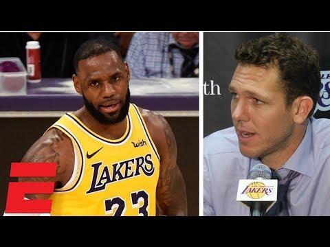 Luke Walton sounds off on refs, Lakers' fight despite 0-3 start | NBA Interview