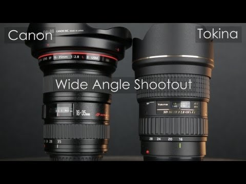 Canon 16-35mm II vs Tokina 16-28mm Lens Review