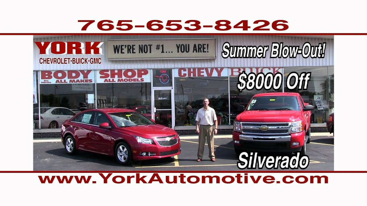 York Chevrolet, Buick, GMC in Greencastle, Indiana produced by ...