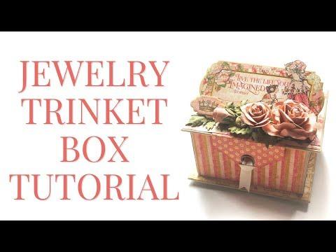 [Tutorial] Jewelry Trinket Box by Graphic 45 Featuring Princess - Club G45 Vol 2
