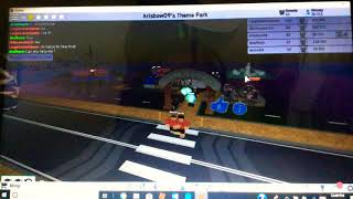 Having your own theme park in Roblox😁