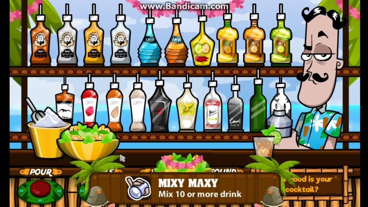 Bartender: The Right Mix Game - Play online at Y8.com