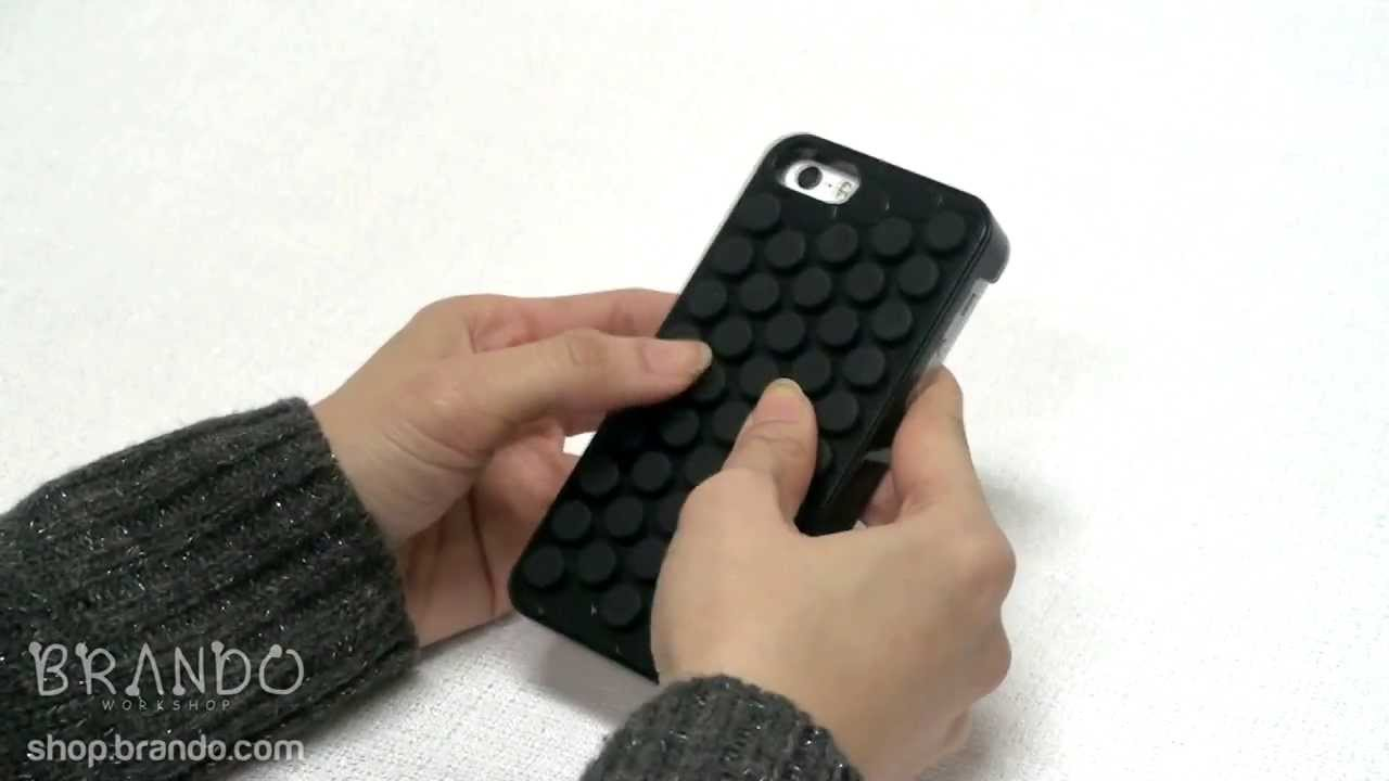 brand new 4935e 3376f iPhone 5s Bubble Wrap Popping Case