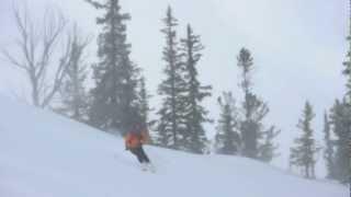 Bench Hut Backcountry Skiing Trip, Sawtooths, Idaho.mov