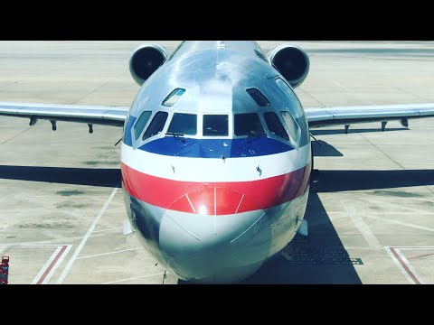 AMERICAN AIRLINES, MD-80 First Class: Houston George Bush - DFW