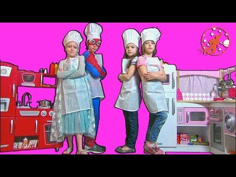 Kids Kitchen Pretend Recipes 1 - Kids Cooking Show