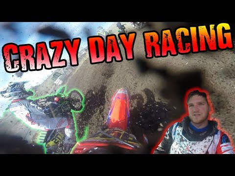Crazy Day Racing at Thunder Valley | Day With DeeO #136 - Motovlog