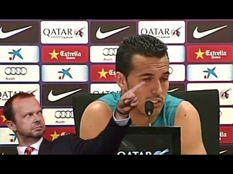 Pedro: 'Ed Woodward tie up a deal? He couldn't tie up a shoelace!'*