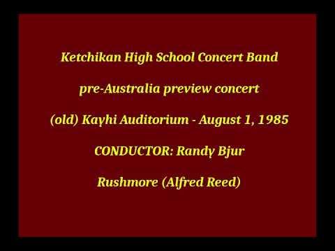 2) Rushmore - 1985 Ketchikan High School Concert Band