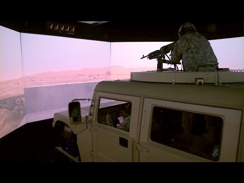 Virtual Reality Used To Train Soldiers: Reconfigurable Vehicle Tactical Trainer (RVTT)