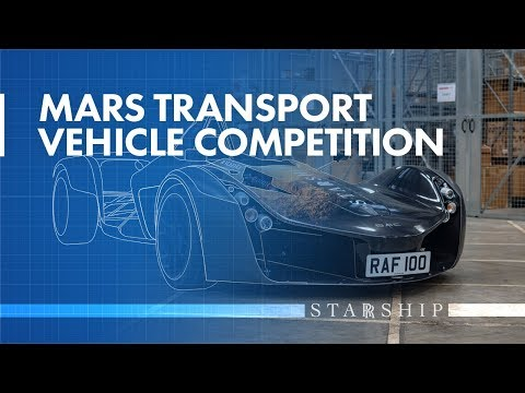 Mars Transport Vehicle Competition | Prizes from the Royal Air Force and Briggs Automotive Company