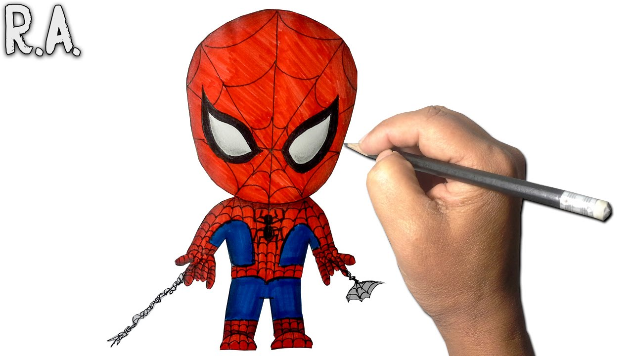 Spiderman Para Colorear Gratis: Spiderman Dibujos. Interesting Spiderman Para Imprimir Y