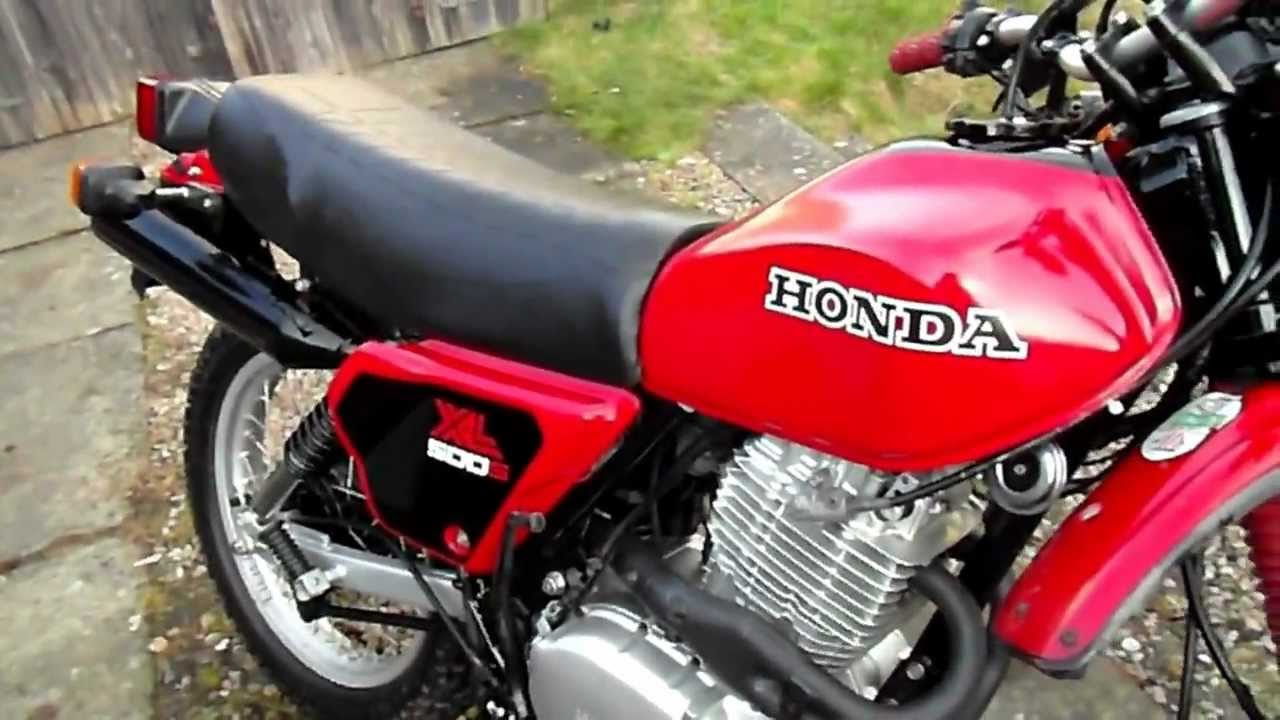 FOR SALE: Honda XL 500 s 1981 in Red - YouTube