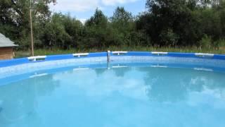 Бассейн Интекс на пергидроли