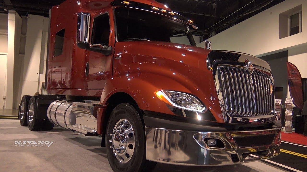 2019 International LT625 WheelBase 236inch - Exterior And Interior Walkaround - 2018 Truck World