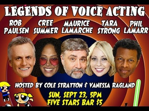 Pop My Culture Podcast: Legends of Voice Acting Panel (Meeting SOME AVs)