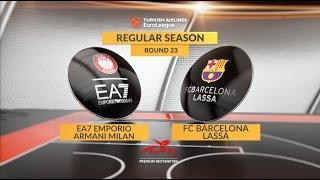 Highlights: ea7 emporio armani milan-fc barcelona lassa