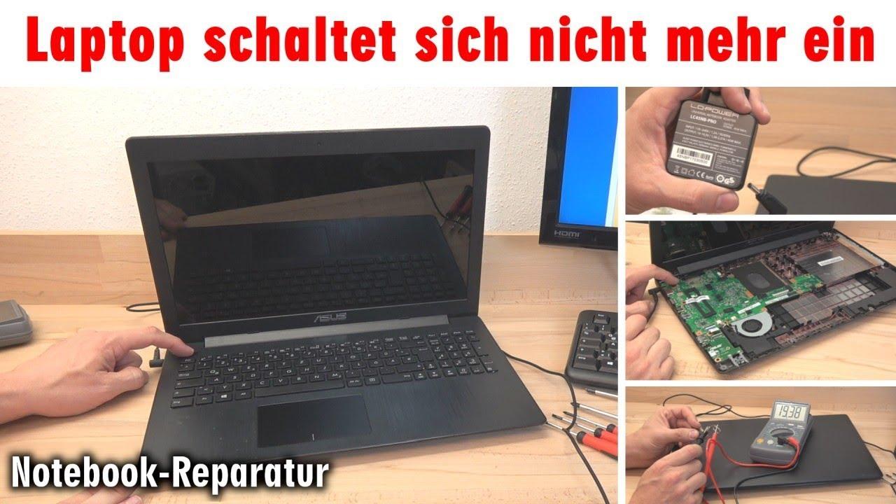 Notebook Lässt Sich Nicht Einschalten Bildschirm Bleibt Schwarz