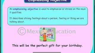Emphasizing Adjectives