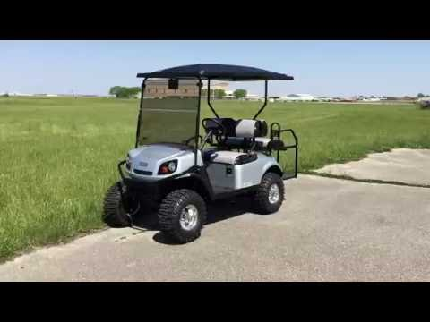2016 E-Z-GO EXPRESS S4 GAS SILVER FOR SALE AT POWER EQUIPMENT SOLUTIONS