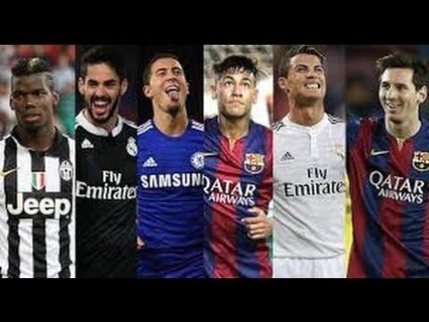 Top 50 des meilleurs joueurs de football 2017