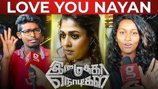 """Love you Nayanthara"" – Fans Reaction on Imaikkaa Nodigal"