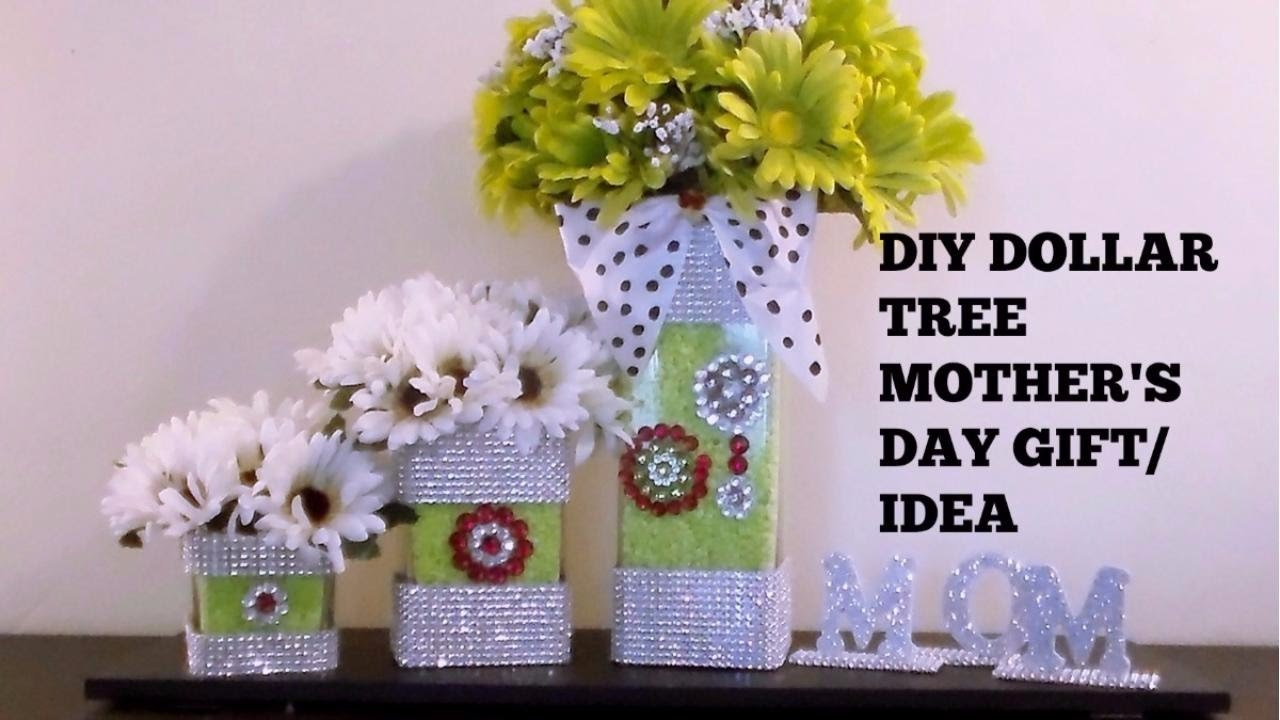Diy Dollar Tree Mother S Day Gift Idea Youtube