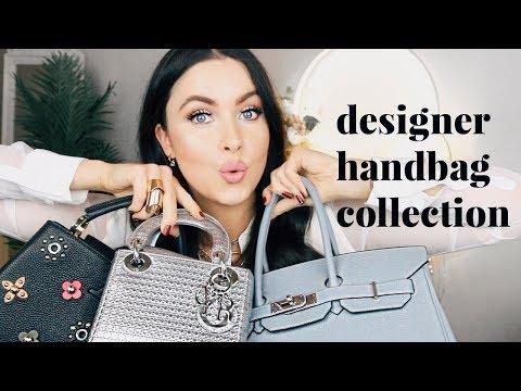 DESIGNER BAG COLLECTION & NEW BAG REVEAL | CHANEL, GUCCI, GIVENCHY, VALENTINO, DIOR | EMMA MILLER