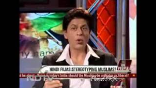 "SRK on being a Muslim on  NDTV ""We the people"" part 1"