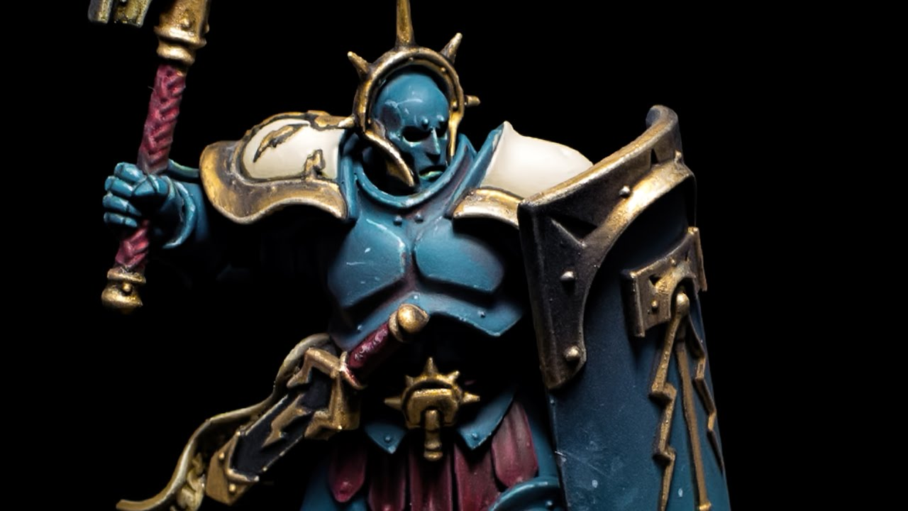 How to paint Celestial Vindicators by Lester Bursley